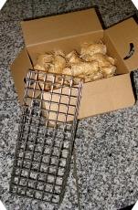 NEUHEIT Grill Anzündhilfe aus Edelstahl + 48 Grillanzünder